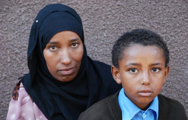 Yesuf and his Mom, Zehara: EHE020