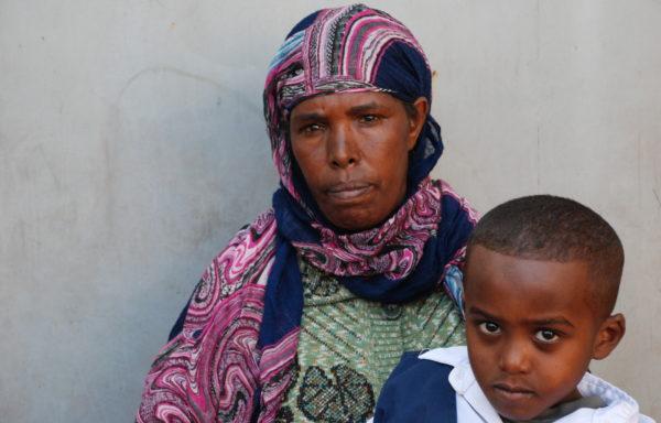 Eyob and his Grandma, Anley: EHE051