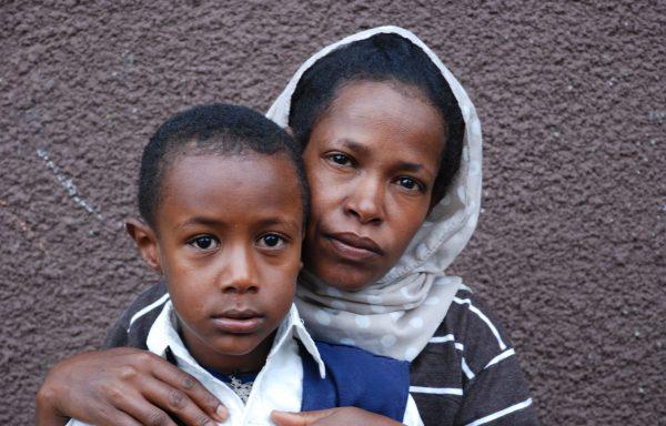 Dagim and his Mom, Kemela:EHE116