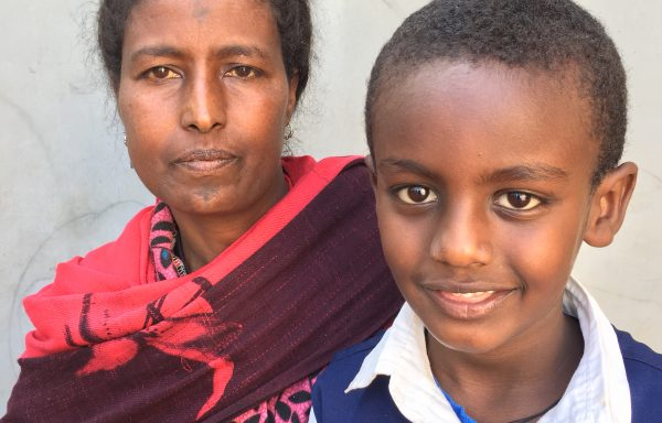 Besufekad and his Mom, Enanu:EHE127