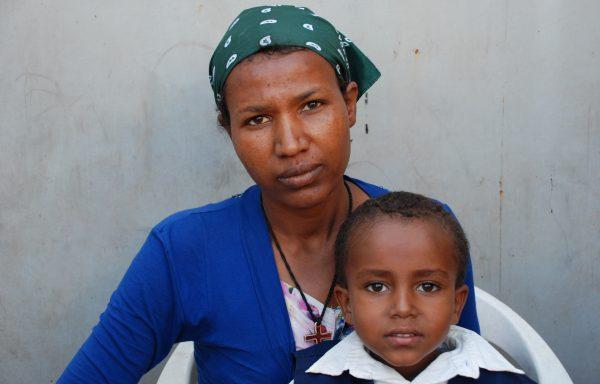Esayas and his Mom, Ayehu:EHE178