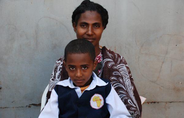 Kidus and his Mom, Enate: EHE188
