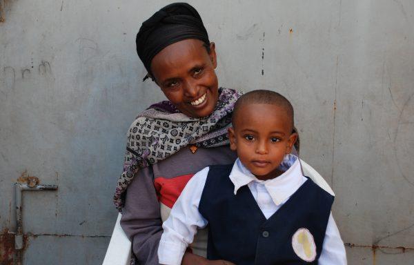 Menberu and his Mom, Melkam: EHE192