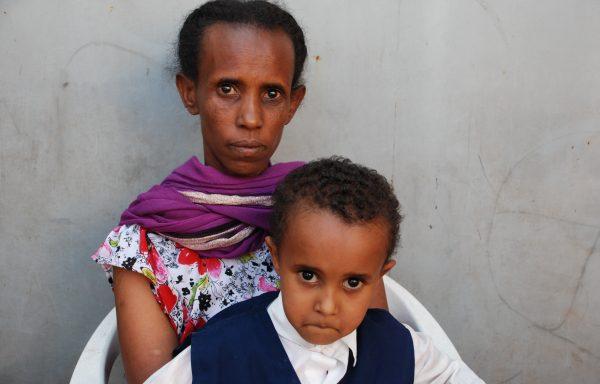 Kidus and his Mom, Fekerte: EHE204