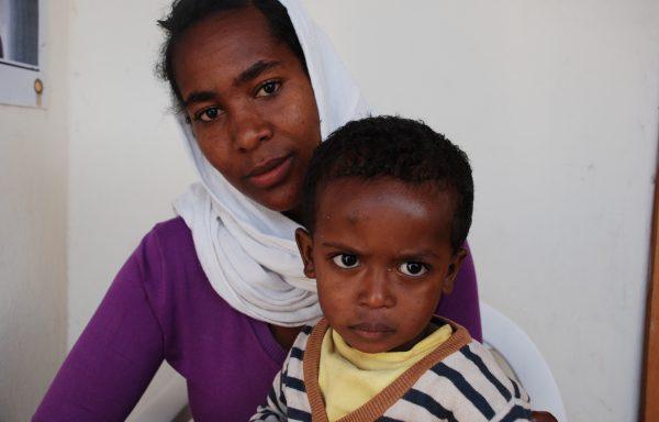 Bemnet and his Mom, Mastewal: EHE238
