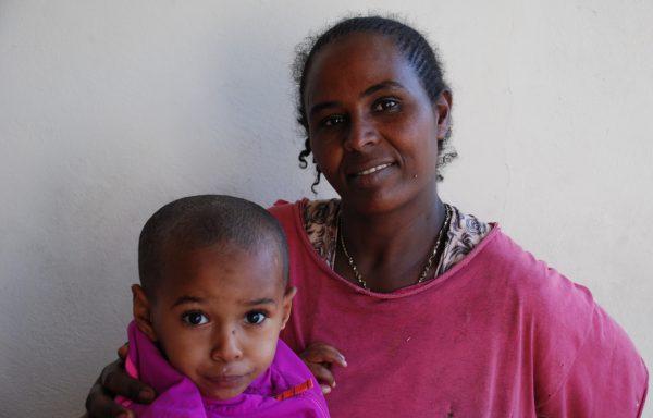 Besufekad and his Mom, Adina: EHE241