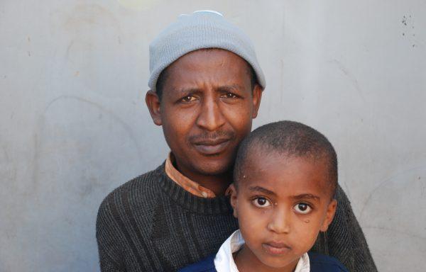 Yakob and his Dad, Berhanu: EHE269