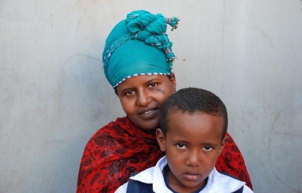 Amen and his Mom, Etenesh: EHE276