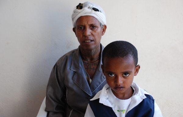 Kidus and his Grandma, Enat: EHE277