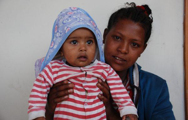 Natnael and his Mom, Yenenesh: EHE282
